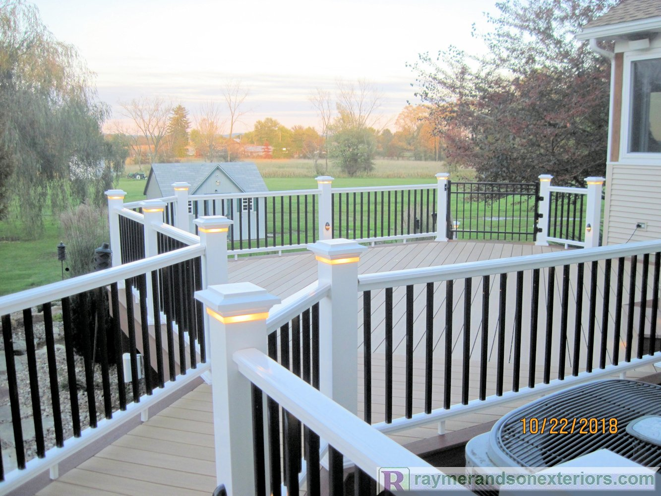 Rsxeteriors-Azek-Vinyl-Deck-LED-Lights-Turbotville-Pennsylvania-11