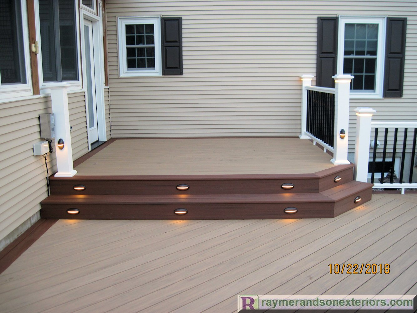 Rsxeteriors-Azek-Vinyl-Deck-LED-Lights-Turbotville-Pennsylvania-7
